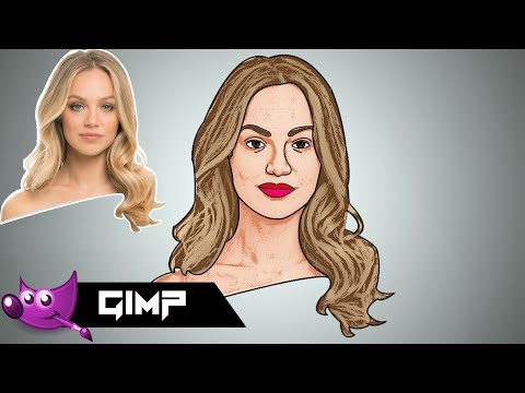 How To Create Cartoon Effect In Gimp