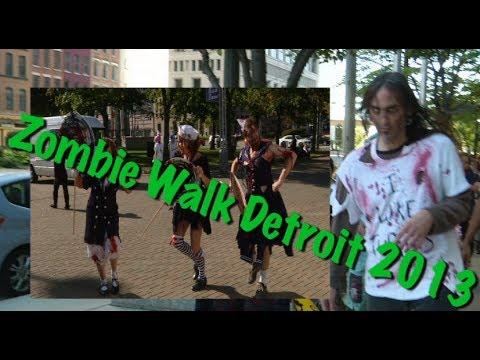Detroit Zombie Walk 2013 (World Zombie Day)