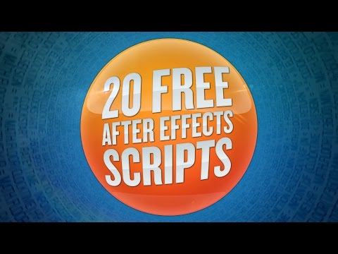 20 Free After Effects Scripts