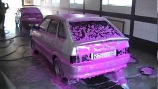 Активная цветная пена для бесконтактной мойки автомобилей(, 2012-04-28T11:26:46.000Z)
