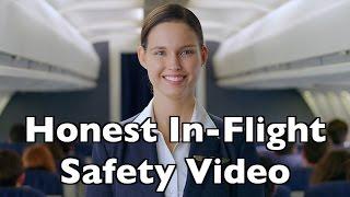 honest in flight safety video
