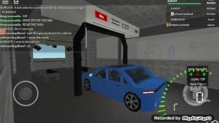 ROBLOX Car Wash #23: KWS Obsidian At A Mobil Gas Station