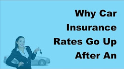 2017 Auto Insurance FAQs | Why Car Insurance Rates Go Up After An Accident