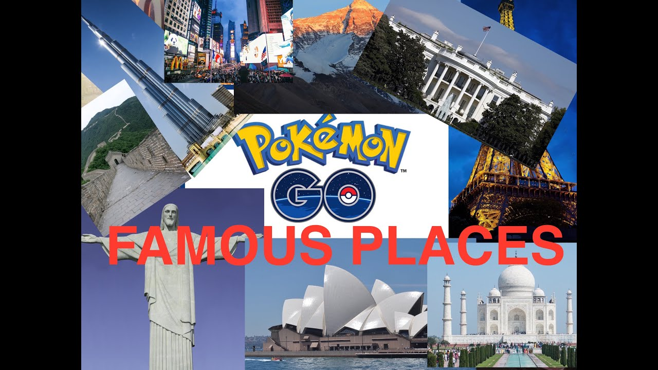 pokemon go white house mount everest paris famous places youtube. Black Bedroom Furniture Sets. Home Design Ideas
