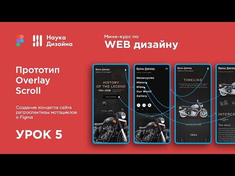 Мини-курс «Web Design 2. Figma». Урок 5. Прототипирование