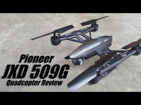 Pioneer JXD 509G FPV Quadcopter from Banggood