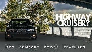 Is the BMW E39 M5 a good road trip car?