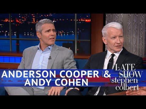 Anderson Cooper Stole Andy Cohen's Line For A Trump-Clinton Debate