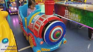 Train Ha Noi, Baby Driver Train Indoor Playground Area | Video For Kids | HT BabyTV ✔︎