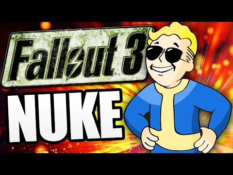 Fallout 3 - BLOWING UP MEGATON ! (Fallout 3 Funny Moments w/ Mods & Cheats)