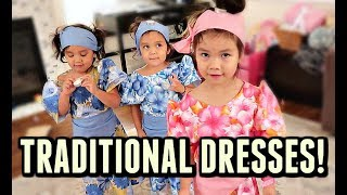 CUTEST TRADITIONAL DRESSES! - October 10, 2017 -  ItsJudysLife Vlogs