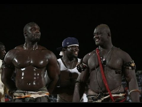 Senegalese wrestling or Lamb Ji (then champion; Balla Gaye 2)