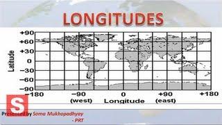 LONGITUDES - CBSE Class VI Social Science - Geography