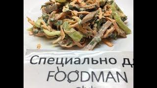 Салат из жареных баклажанов с овощами: рецепт от Foodman.club