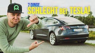7 Dinge die Tesla SCHLECHT macht!