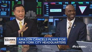 Two local New York politicians debate Amazon's HQ2 decision Video
