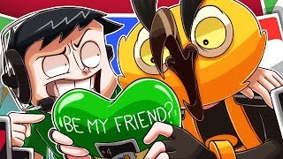 NOGLA JUST WANTS TO BE FRIENDS WITH VANOSS!