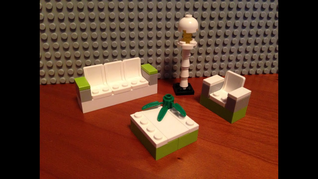 Awesome Lego Modern Living Room Design This Is A Tutorial On How To Build A Lego Living Room Youtube
