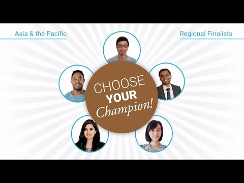 Young Champions of the Earth - Asia & the Pacific Regional Finalists