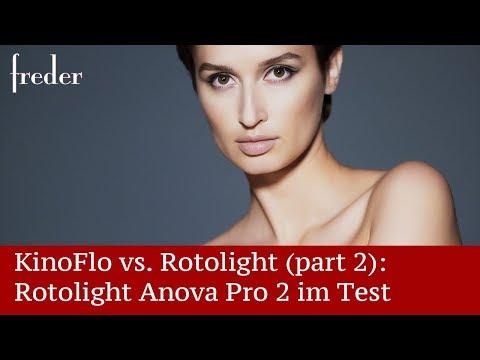 Kino Flo Freestyle 4ft Tubes Vs. Rotolight Anova Pro 2  Part 2 Die Anova Im Test