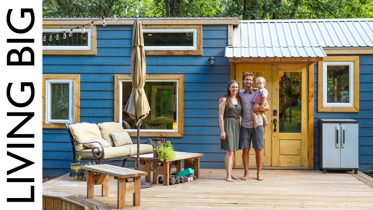 Tiny House Packed With Clever Design Ideas Youtube