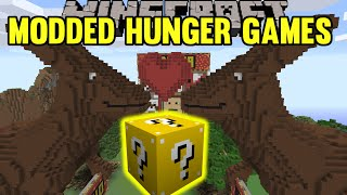 Repeat youtube video Minecraft: Kangaroo Love Modded Hunger Games - Lucky Block Mod - Modded Mini-Game