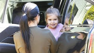 Kourtney Kardashian Takes Her Adorable Mini-Me Penelope To Play Class