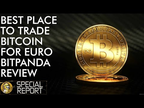 BEST Place To Trade Bitcoin & Crypto For Euros - Bitpanda Global Exchange