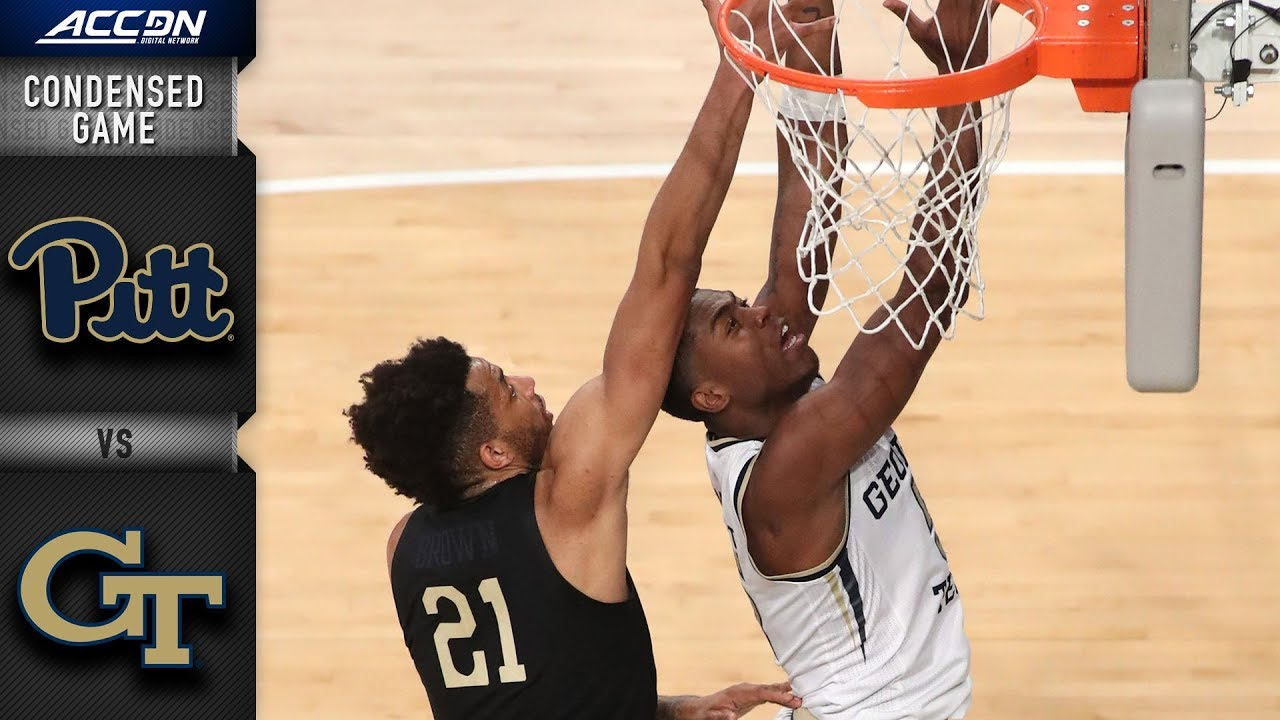 Pittsburgh vs. Georgia Tech Condensed Game | 2018-19 ACC Basketball