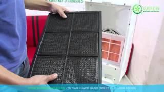 Máy lọc không khí tạo ẩm Hitachi EP-A9000 - Air Purifier Hitachi EP-A9000