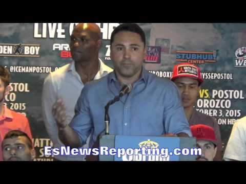 Antonio Orozco: WE'RE READY FOR THE BIG LEAGUE - EsNews Boxing