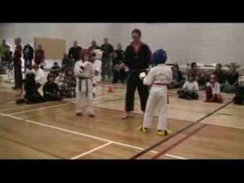 Download Jason Ramos sparring at a tournament/Cheney's Karate