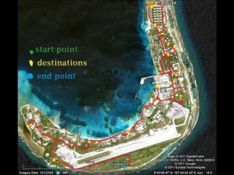A quick tour around Kwajalein