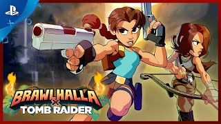 Brawlhalla - Tomb Raider Gameplay Trailer | PS4