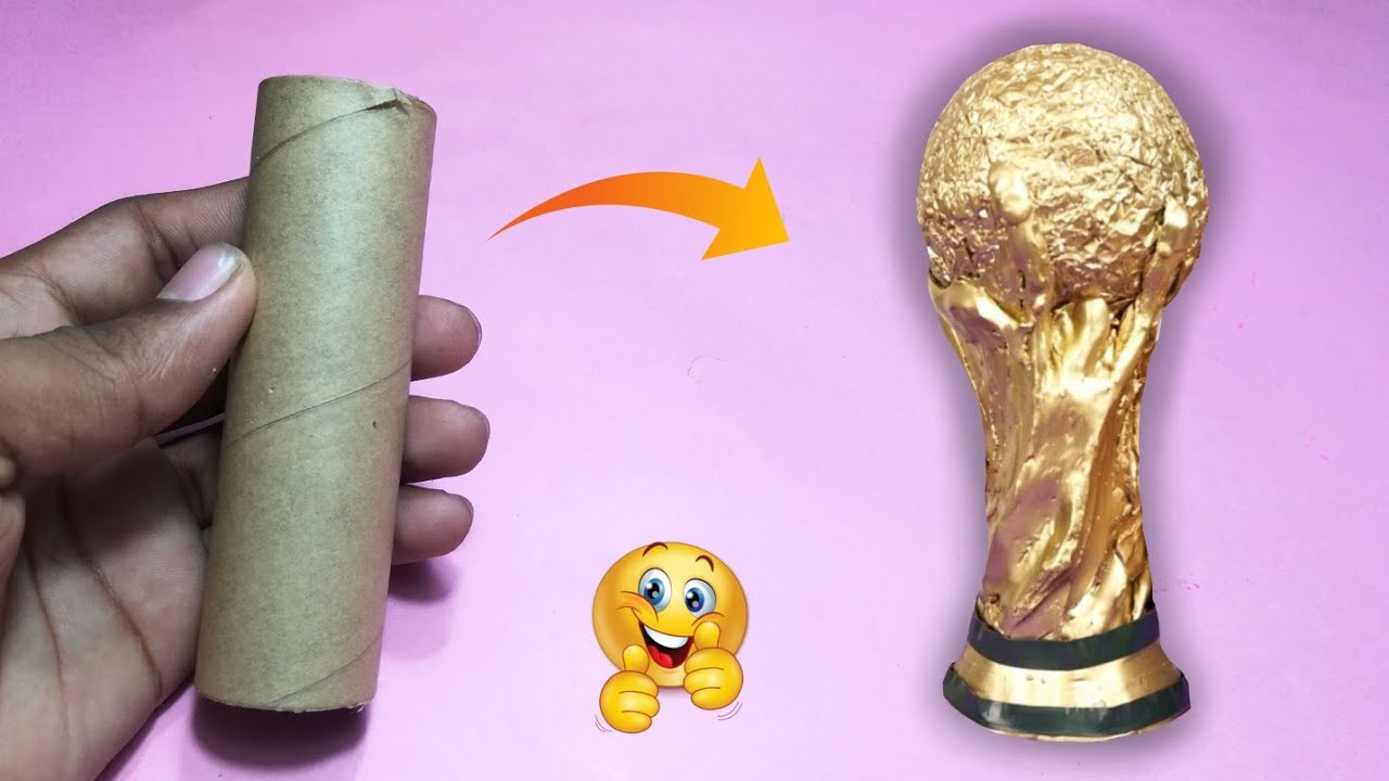 World Cup Trophy How To Make A From Cardboard