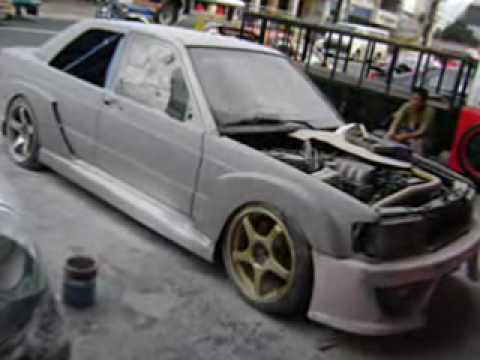 a toy 190e drift car project lateral d youtube. Black Bedroom Furniture Sets. Home Design Ideas