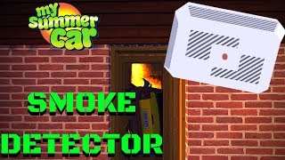 SMOKE DETECTOR - GT Grille PAINTABLE - My Summer Car Update #101
