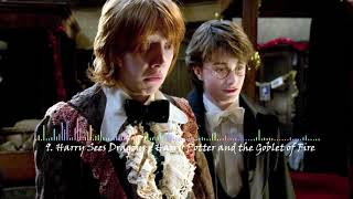 9. Harry Sees Dragons - Harry Potter and the Goblet of Fire (soundtrack)