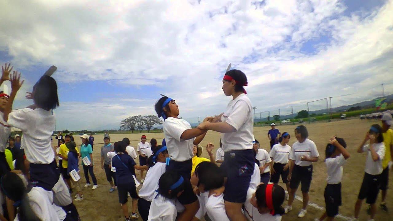 羽黒中学校運動会 騎馬戦2