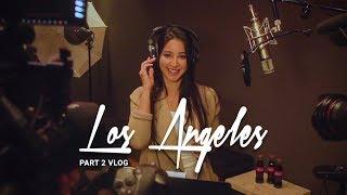 LA Vlog Part 2 - Studio Session   تسجيل أغنية كأس العالم في لوس أنجلوس⚽️🎤- الجزء الثاني ٢