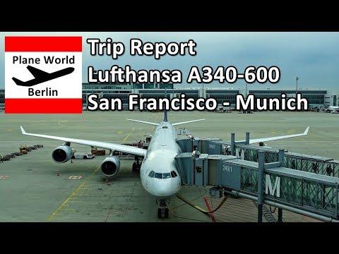 Trip Report | Lufthansa A340-600 | Economy | San Francisco - Munich
