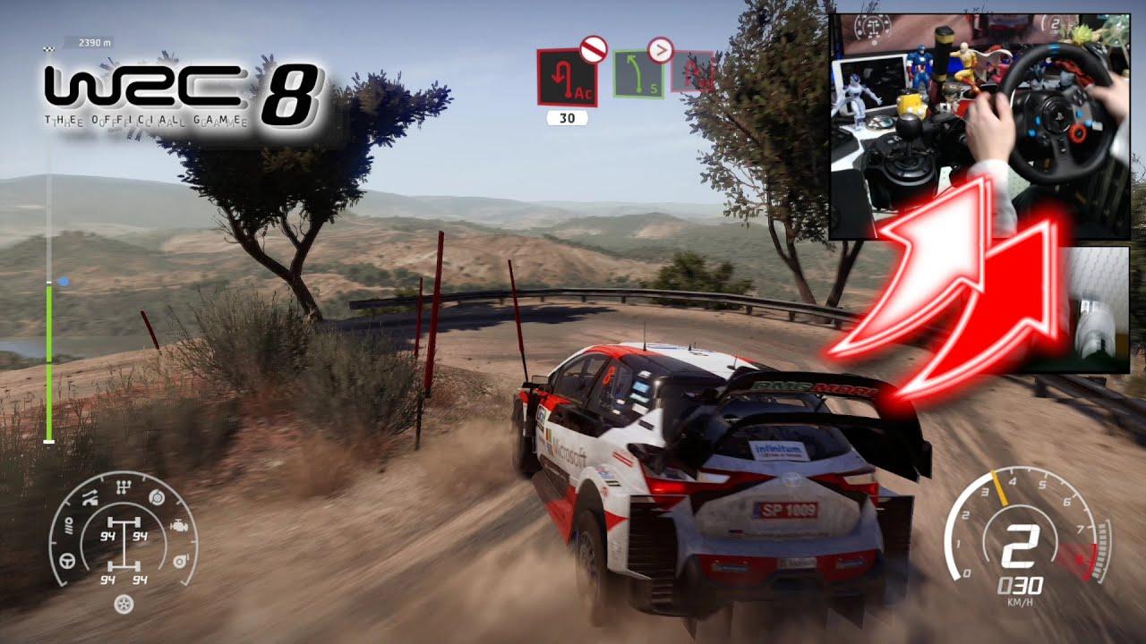Download WRC 8 Toyota Yaris WRC Rally Mexico / Logitech G29