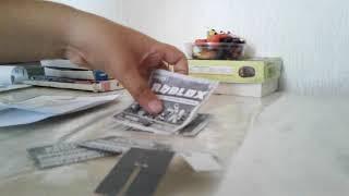 Распаковка бумажного  роблокса