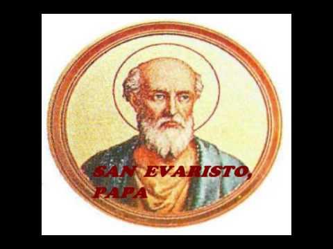 Resultado de imagen para papa san evaristo