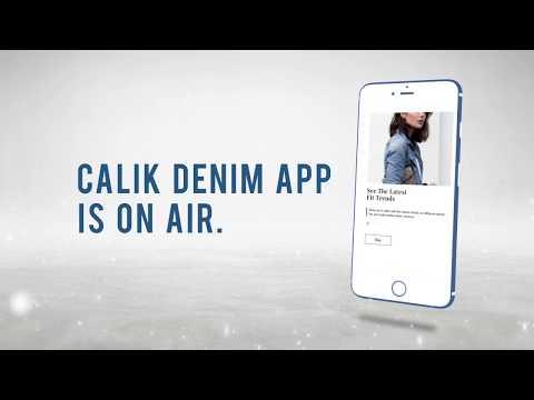 Calik Denim App Is On Air!