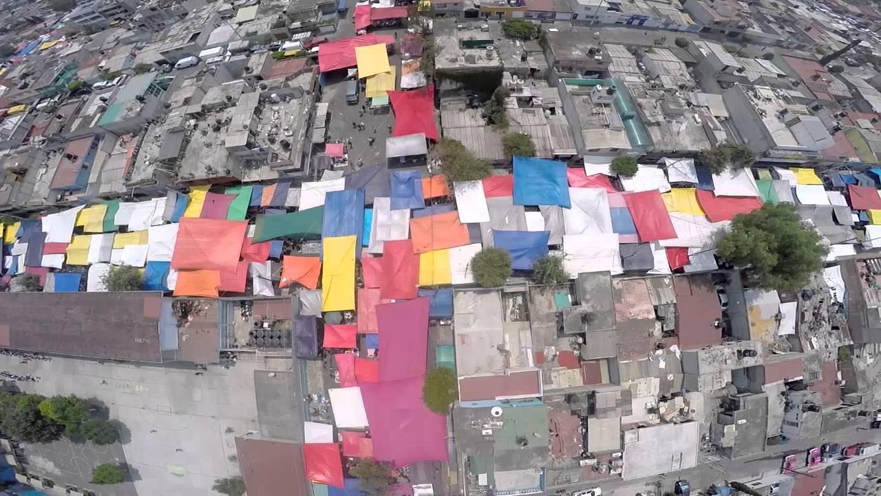 Tianguis de santa cruz meyehualco youtube for Donde queda santa cruz