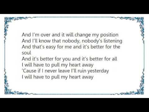 Jack Peñate - Pull My Heart Away Lyrics
