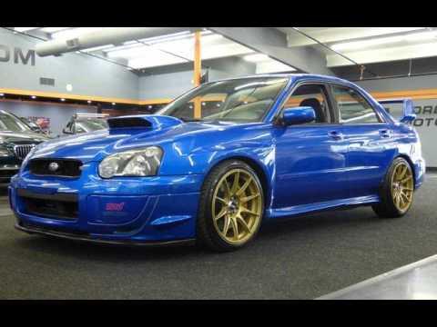 2004 Subaru Impreza WRX STI for sale in milwaukie, OR - YouTube