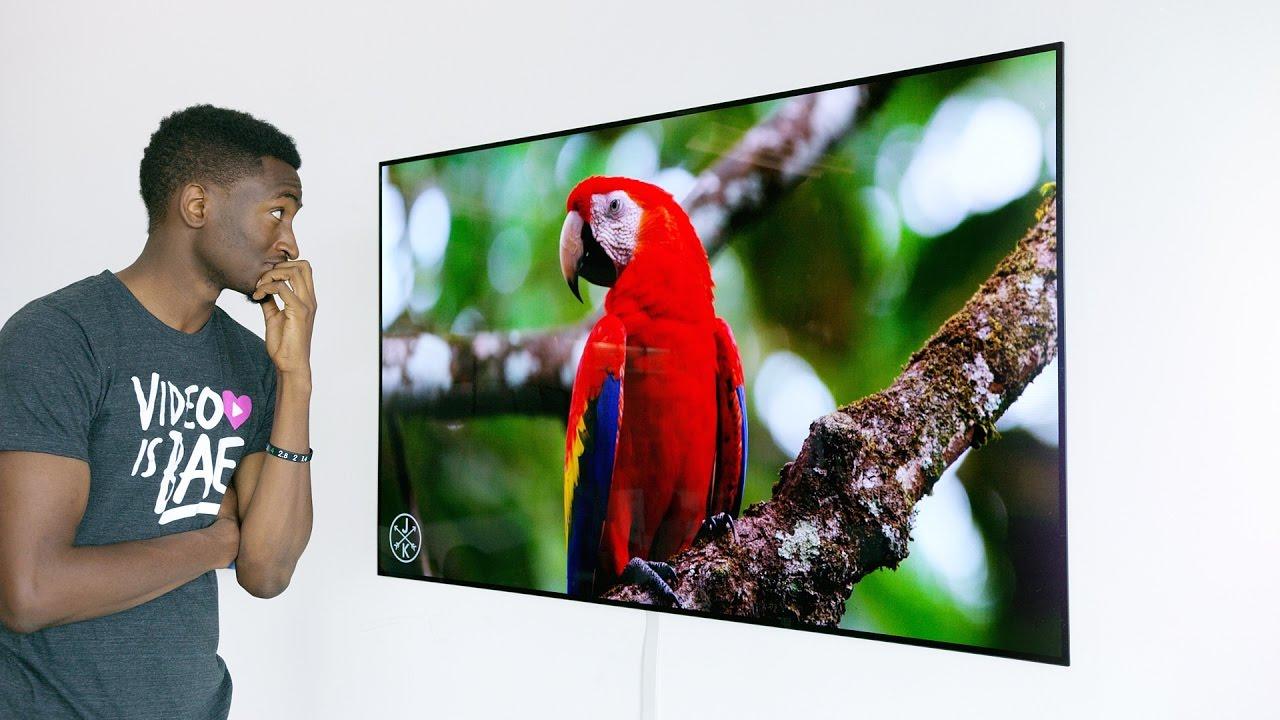 Dope Tech: The 4K OLED Wallpaper TV! - YouTube