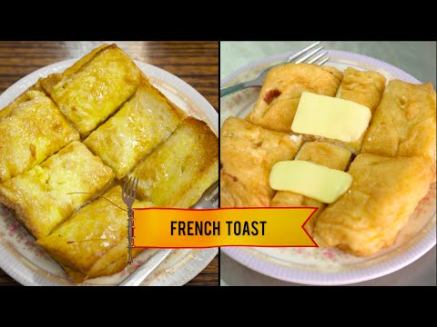 Hong Kong - French Toast   Food Wars Asia   Food Network Asia